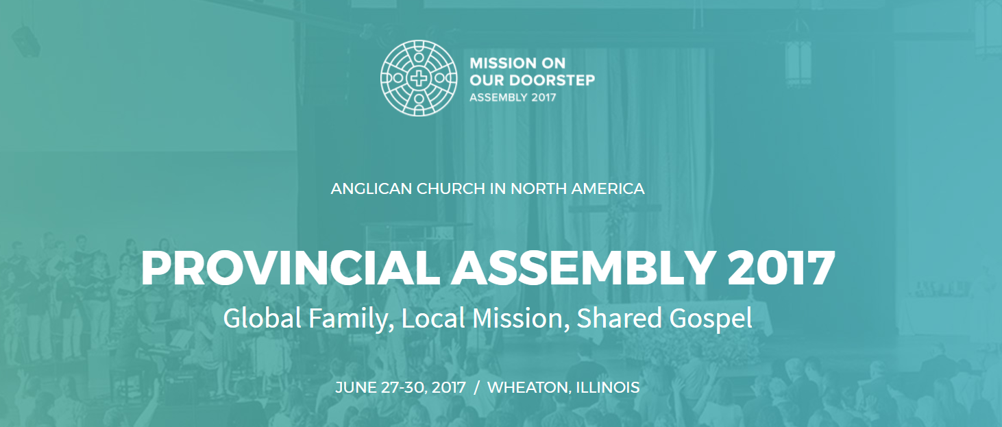 ACNA Provincial Assembly 2017